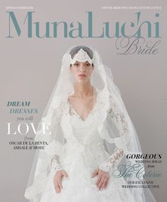 #oscardelarenta Munaluchi Spring/Summer 2014 Cover by Elizabeth Messina On newsstands nationwide May 6th!
