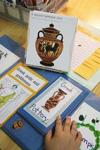 looking at ancient greece lapbook