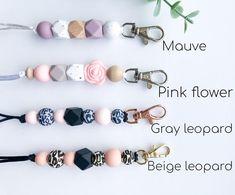 Cute Lanyards, Beaded Lanyards, Teacher Valentine, Id Badge Holders, Bead Crafts, Beading Patterns, Sweet Peach, Beads, Keychains