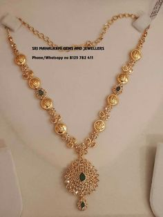 #GoldJewelleryMangalsutra #GoldJewelleryHaram Gold Earrings Designs, Gold Jewellery Design, Necklace Designs, Gold Haram Designs, 1 Gram Gold Jewellery, Fancy Jewellery, Gold Jewelry Simple, 3d Prints, Jewelry Patterns