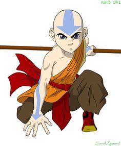 Avatar Aang by swazilan on DeviantArt