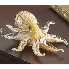 Art Glass Octopus