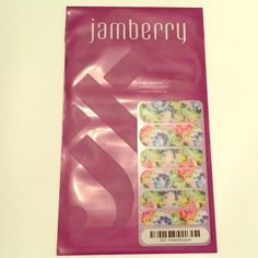 Jamberry New Faded Bouquet Nail Wraps Jamberry New Faded Bouquet Nail Wraps Jamberry Makeup