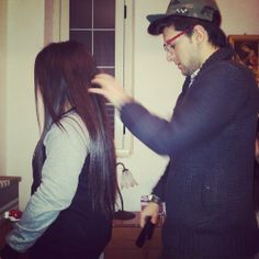 Piero Barone and Maria Grazia (his sister). So adorable! I seriously want a brother like Piero. So badly.