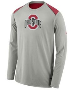 3e3a0f2b Nike Men's Ohio State Buckeyes Basketball Long Sleeve Shooter T-Shirt &  Reviews - Sports Fan Shop By Lids - Men - Macy's