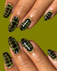 Nail Design Stiletto, Nail Design Glitter, Nail Ring, Funky Nails, Edgy Nails, Manicure E Pedicure, Fire Nails, Minimalist Nails, Best Acrylic Nails
