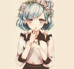   Tải hinh anime – Cute girl – 242 – avatar 1 tấm   Ảnh đẹp 1 tấm