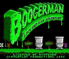 Boogerman para Mega Drive.