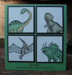 su dinosaurs card