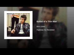 Bob Dylan - Ballad of a Thin Man in 1965 of the ground-breaking Highway 61 Revisited LP