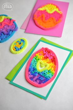 Mother daughter self esteem craft activity idea tween for Easter crafts pipe cleaners