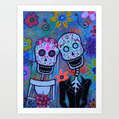 FRIDA, FRIDA KAHLO, DAY OF THE DEAD, DIA DE LOS MUERTOS, SKULL, SKELETON, FOLK ART, MEXICAN, MEXICAN PAINTINGS, DOG PAINTINGS, FLORALS, FLOWERS, WHIMSICAL, PRISTINE CARTERA-TURKUS, wedding, matrimonio, anniversary gift, present.PRISARTS, OUTSIDER ART, BRUT ART, FLORALS, CAT, GATO, EL GATO, HELLO KITTY, PUSA, MEOW