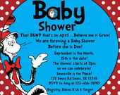 dr seuss baby shower invite