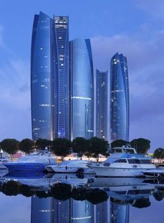 Etihad Towers A complex of buildings with five towers in Abu Dhabi