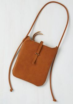 Keep the Contempo Bag - Leather, Tan, Solid, Minimal, Colorsplash