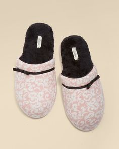 "Soma Intimates Scuff Slipper Exquisite Boudoir Pink #somaintimates ""My Soma Wish List Sweeps"""