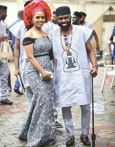 Noble Igwe Confirms he & his Wife Chioma had a Baby Girl in January - BellaNaija African Wear Styles For Men, Ankara Styles For Women, African Men Fashion, African Dresses For Women, African Attire, African Women, Ankara Fashion, African Outfits, African Traditional Wedding