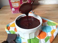 ghiaccia al cioccolato