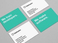 Oakfusion business cards by Robert Brodziak