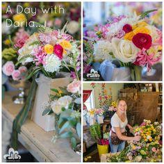 Floral Artistry's owner, Alison Ellis, shot by Daria Bishop Photographers. #VermontWeddingFlowers