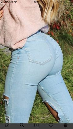 Sexy Jeans, Garner Style, Beautiful Buttocks, Hot Country Girls, Tights Outfit, Curvy Girl Fashion, Girls Jeans, Sexy Hot Girls, Sexy Women