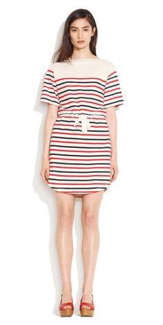 spring stripes, madewell.com