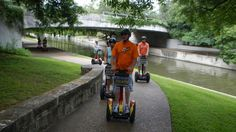 How's this for family fun -- take a Segway ride through San Antonio. Great for everyone from teenagers to grandparents, the ride has you cruise past San Antonio's theater district to Main Plaza, as well as the River Walk to King William District, with a stop at the Alamo along the way.