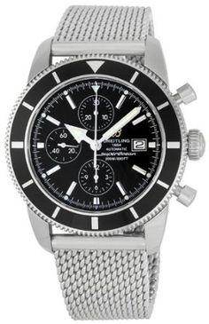 Breitling Men's A1332024/B908 Superocean Heritage Chronograph Watch: Watches: Amazon.com