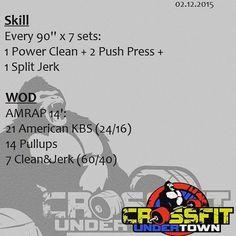 #wod #cftundertown #crossfit #workout #barbells #weightlifing #skill #strength #conditioning #xeniosusa #roguefitness #netintegratori #supportyourlocalbox