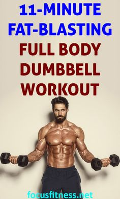 Fat-Blasting Full Body Dumbbell Workout at Home If yo. - Fat-Blasting Full Body Dumbbell Workout at Home If yo… – - At Home Dumbell Workout, Full Body Dumbbell Workout, Full Body Workout Routine, Body Workout At Home, Entrainement Full Body, Easy Workouts, At Home Workouts, Lower Body Muscles, Fett