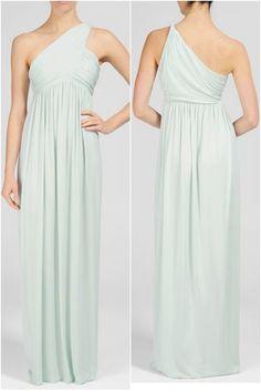 Rachel Pally Long Twist Shoulder Dress, $242 {pretty for bridesmaids}