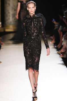 The Last Doll Standing: Elie Saab Fall 2012