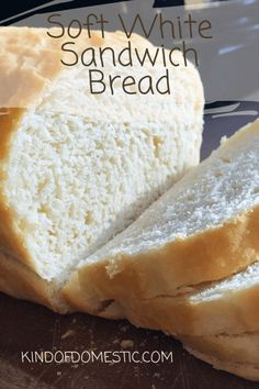 Soft White Sandwich Bread Soft White Sandwich Bread – Kind of Domestic Related posts: The Best Healthy Soft Seedy Sandwich Bread Best Healthy Soft Seedy Sandwich Bread Extremely Soft White Bread (Bread Machine) Soft Whole Wheat Sandwich Bread Healthy Bread Recipes, Sandwich Bread Recipes, Baking Recipes, Bread Maker Recipes, Sliced Bread Recipes, Easy Homemade Bread Recipes, Bread Recipes With Yeast, Homemade Bread Without Yeast, Homemade Sandwich Bread