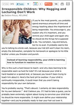 How to Give Effective Consequences to Kids, Teens and Children That Work