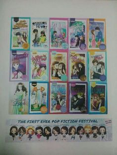 Pop fiction books Pop Fiction Books, Fun, Fin Fun, Lol, Funny