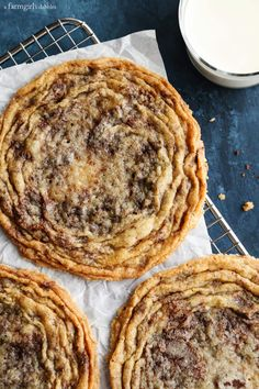Chocolate Chip Cookies from The Vanilla Bean Baking Book at afarmgirlsdabbles.com - These chocolate chip cookies are like no other. They are big-as-your-head and ultra flat, with a soft and chewy center, surrounded by crinkly, wrinkly prettiness that is the perfect texture of crispy.
