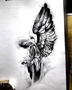 Band Tattoos, Ribbon Tattoos, Tattoos Skull, Foot Tattoos, Half Sleeve Tattoos Drawings, Half Sleeve Tattoos Designs, Tattoo Designs Men, Tattoo Design Drawings, Tattoo Sketches