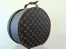 Louis Vuitton Vintage Hat Box Luggage Purse. SOMEBODY PINCH ME!!!!!