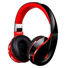 AUSDOM Bluetooth Kopfhörer Wireless / Wired Headset On Ear Stereo Kopfhörer 2000 Stunden Standby / 18 Stunden für Musik und Integriertem Mikrofon für Handys Smartphones Tablets Notebooks Laptop PC