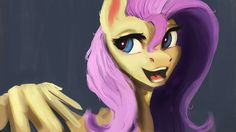 fluttershy by PaperDrop