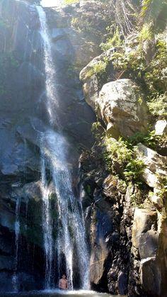 Waterfall at Yelapa, Jalisco, Mexico  - Vallarta Adventures. Bonito  lugar  tengo la dicha de conoser  ahi!!
