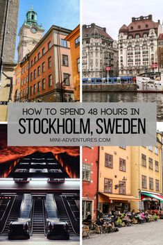 3 Days in Stockholm Itinerary: Art, Food, Museums - and Ghosts! How to spend a weekend in Stockholm, Sweden Backpacking Europe, Europe Travel Guide, Travel Guides, Europe Destinations, Sweden Travel, Sweden Europe, Visit Sweden, Norway Travel, Stockholm Old Town