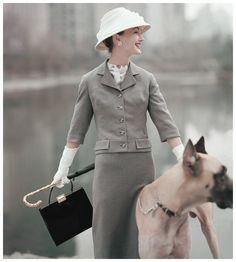 Karen Radkai - Vogue Nov 1960