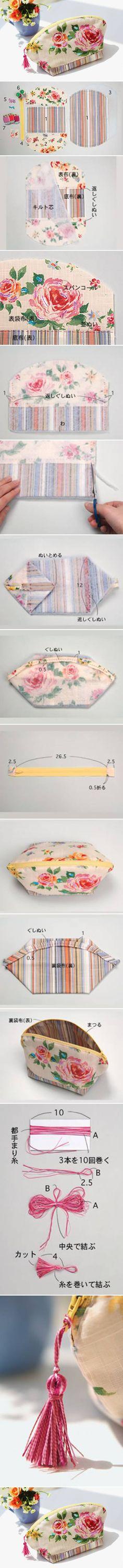 DIY maquiagem linda bolsa de Projetos DIY | UsefulDIY.com