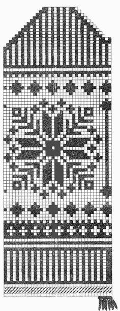 Nõukogude Naine, jaanuar 1960   Ilusa kaheksanna mustriga labakinnas. Parandasin natuke mustrit, sest paber oli juba üpris kulunud.