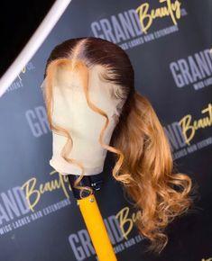 Baddie Hairstyles, Ponytail Hairstyles, Weave Hairstyles, Wig Styles, Curly Hair Styles, Natural Hair Styles, Curly Hair Care, Sew In Wig, Braids Wig