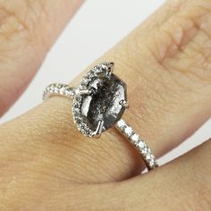 Black Diamonds are the perfect touch to any simple outfit.