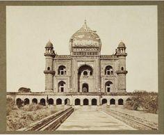 Delhi -Tomb of Safder Jung Delhi Sultanate, Colonial India, Jantar Mantar, Jama Masjid, Mughal Architecture, Walled City, Delhi India, 12th Century, Vintage Pictures