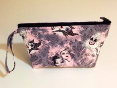Vile Vixens Make Up Bag  Accessory  by DesignsByDragonlily on Etsy, $8.95