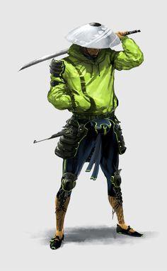neon assassin